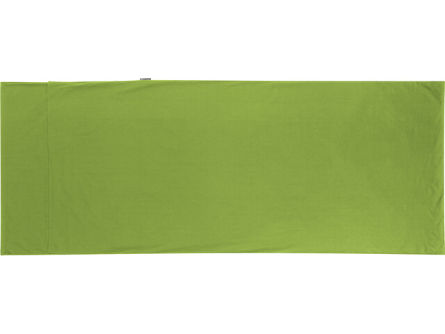 Sea to Summit Premium Cotton Travel Liner Traveller with Pillow Slip green